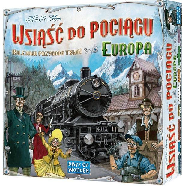 Gra Planszowa Wsiąść do Pociągu: Europa