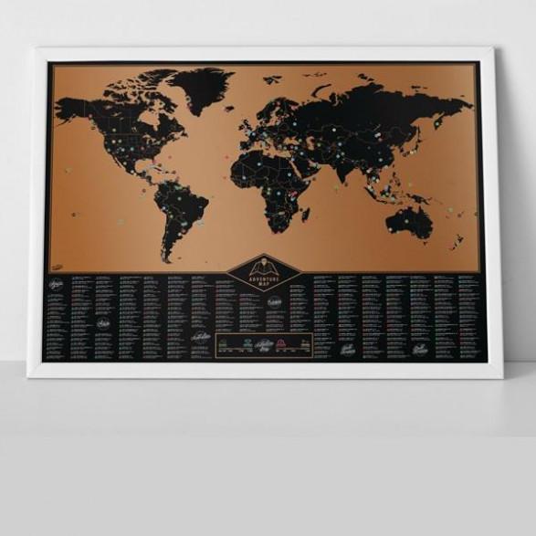 Mapa Zdrapka Przygody