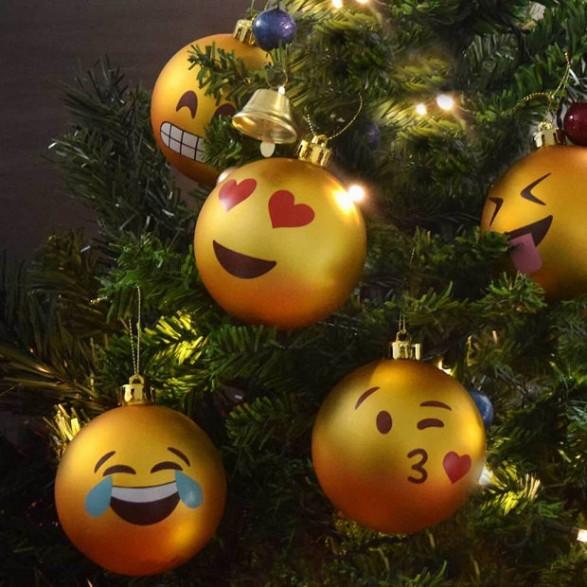 Bombki Choinkowe Emoji