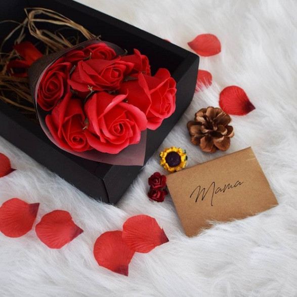 Bukiet Róż do Kąpieli