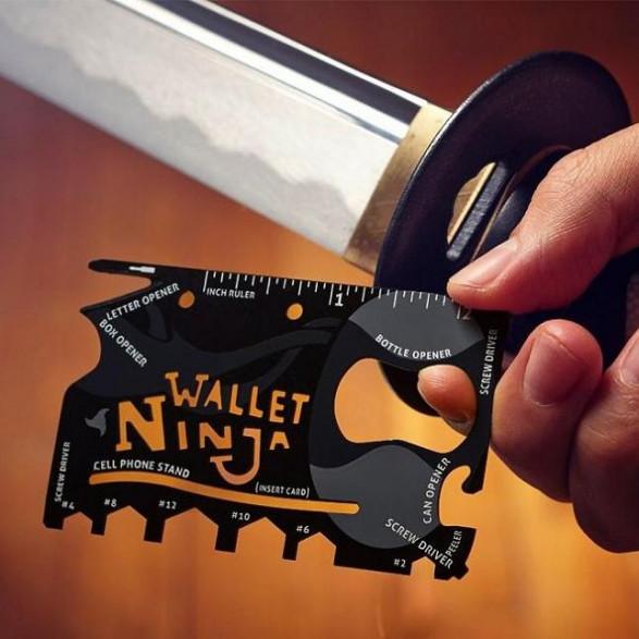 Karta Wallet Ninja 18 w 1