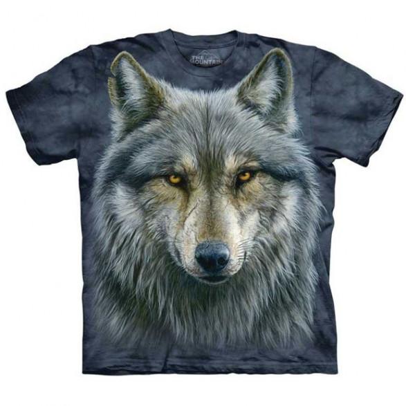 Koszulka Mountain Warrior Wolf