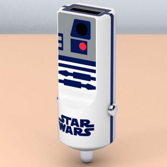 Ładowarka Samochodowa Star Wars R2D2