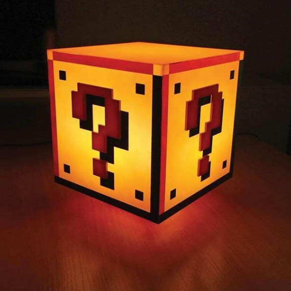 Lampa Super Mario