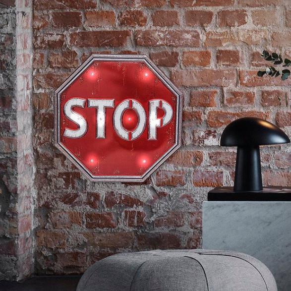 Lampka STOP
