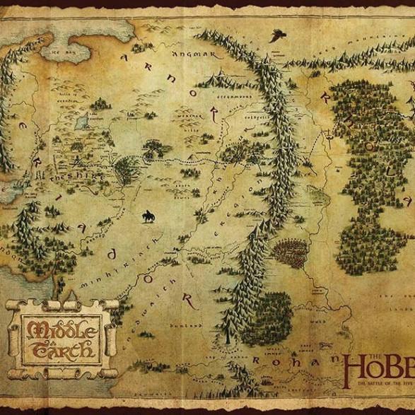 Podkładka pod Myszkę Hobbit