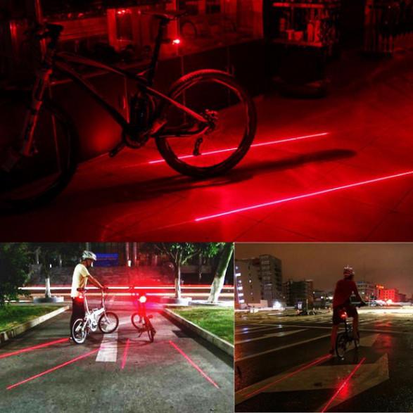 Rowerowe Światła Laserowe