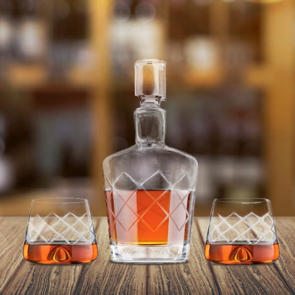 Zestaw do Whisky Crystal Yarai