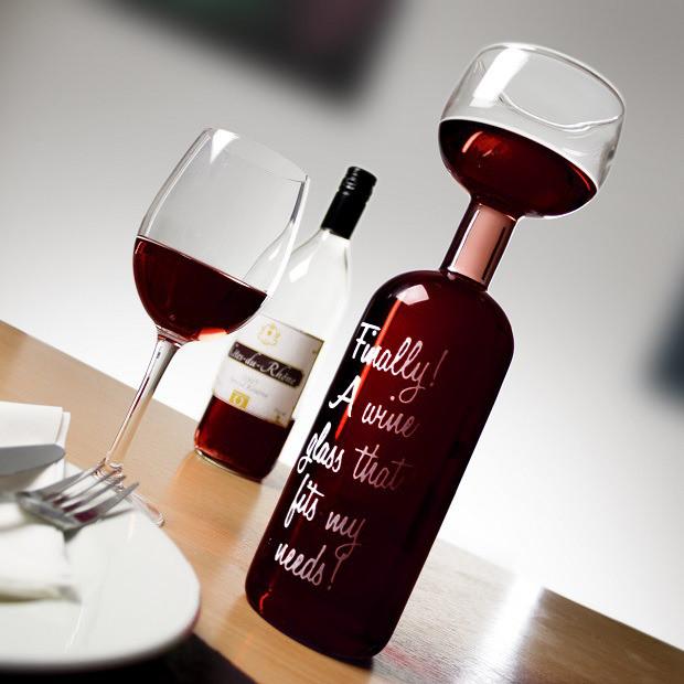 Butelkowy Mega Kieliszek do Wina