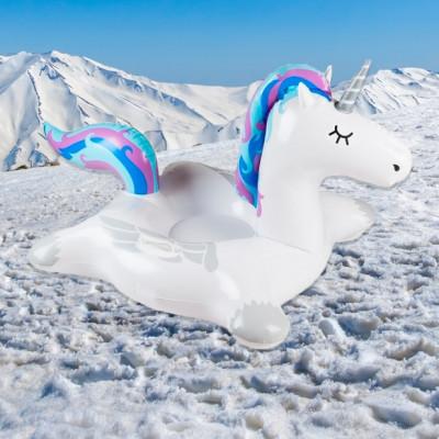 Śnieżny Jednorożec XXL
