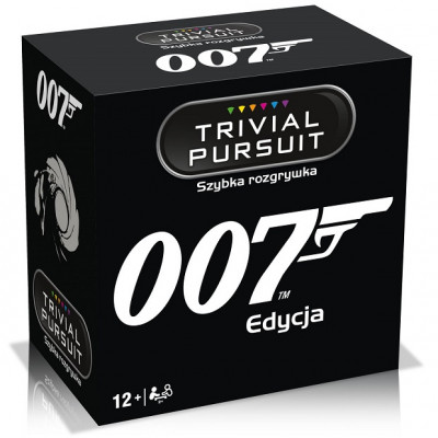 Gra Towarzyska James Bond 007 - Trivial Pursuit