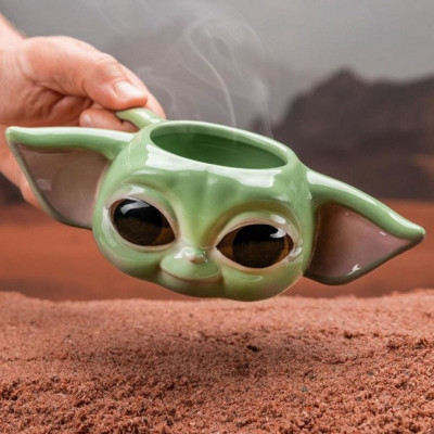 Kubek Baby Yoda 3D