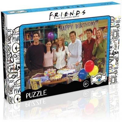 Puzzle Przyjaciele Happy Birthday 1000