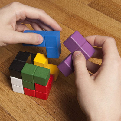 Puzzle Kostka 3D