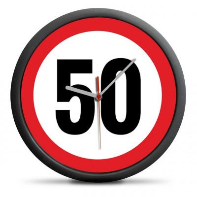 Zegar na 50 Urodziny