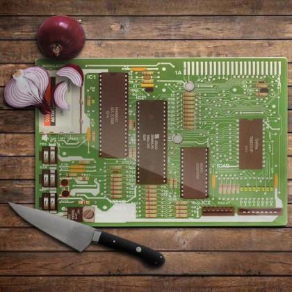 Komputerowa Deska do Krojenia - Fajny prezent dla informatyka