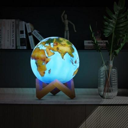 Lampa Kula Ziemska 3D