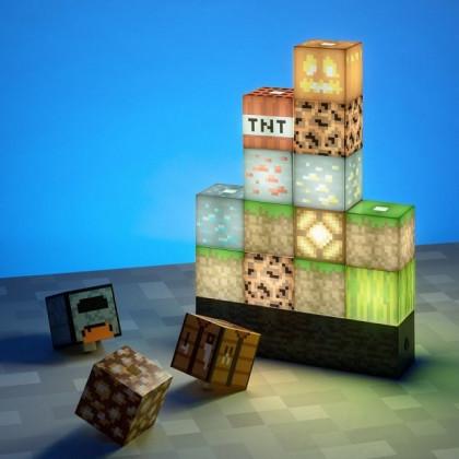 Lampka Minecraft Bloki