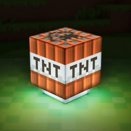 Lampka Minecraft TNT
