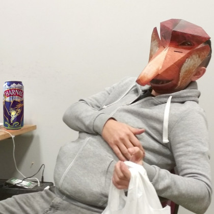 Papierowa Maska 3D Janusz Nosacz.jpg