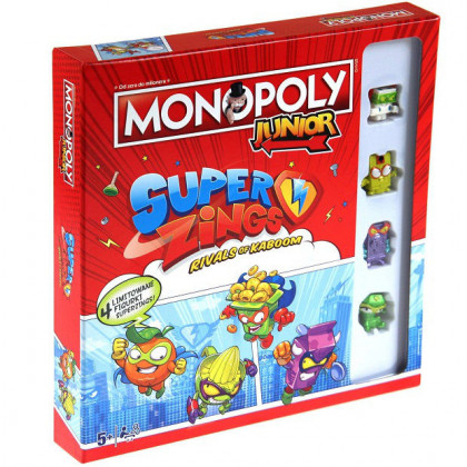 Gra Monopoly Junior SuperZings