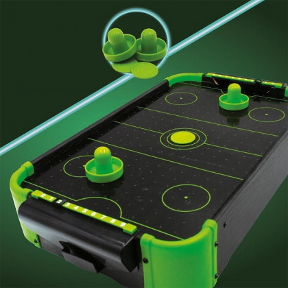 Neonowy Air Hockey