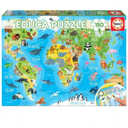 Puzzle Świat Zwierząt