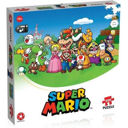 Puzzle Super Mario 500