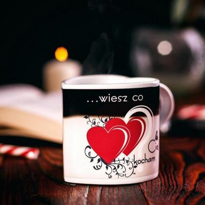 Zaskakujący Kubeczek - Kocham Cię - Najlepszy prezent dla Zakochanych