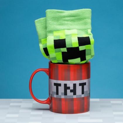 Zestaw Kubek i Skarpetki Minecraft