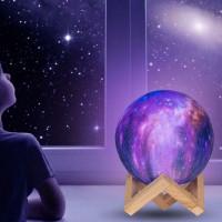 Galaktyczna Lampa 3D Stars