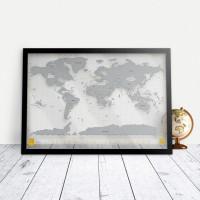Mapa Zdrapka Clear Edition