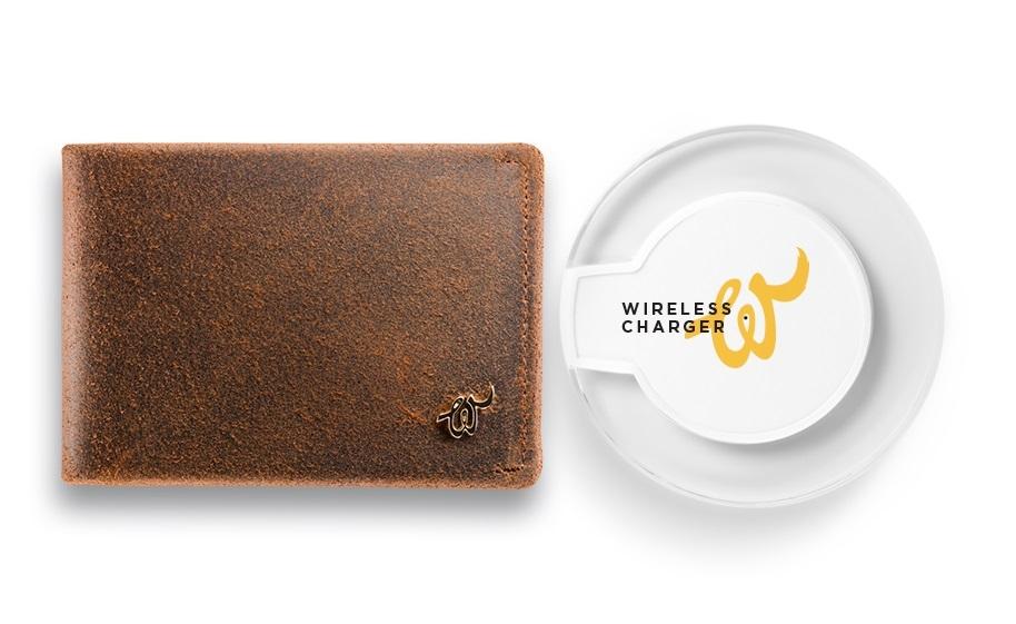 Inteligentny Portfel Woolet Classic 2.0+Ładowarka